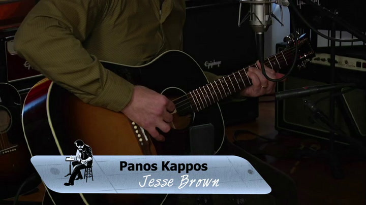 Panos Kappos performs Jessie Brown on The Jimmy Lloyd Songwriter Showcase