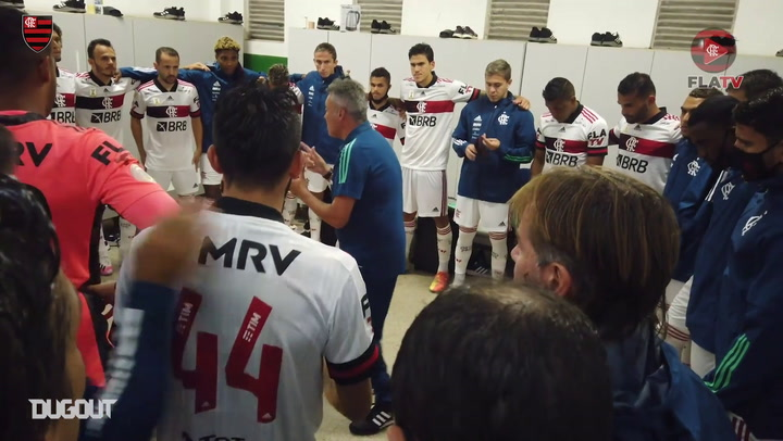 Behind the scenes of Flamengo's win vs Bahia