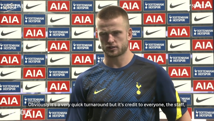Eric Dier reveals why he went off during Chelsea win