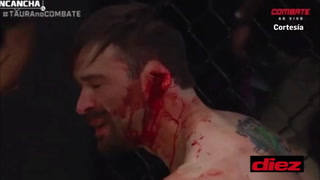 ¡Horrible! La terrorífica herida en la oreja de un peleador de MMA en Brasil