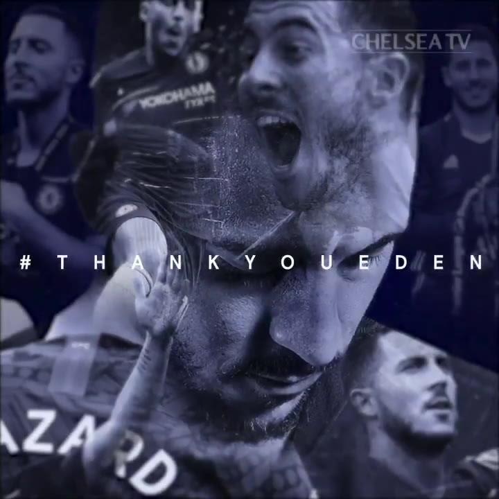 Emotivo vídeo de despedida del Chelsea a Hazard