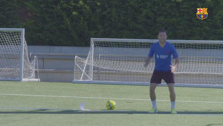 El Barça de fútbol sala vuelve al trabajo tras el parón por el coronavirus