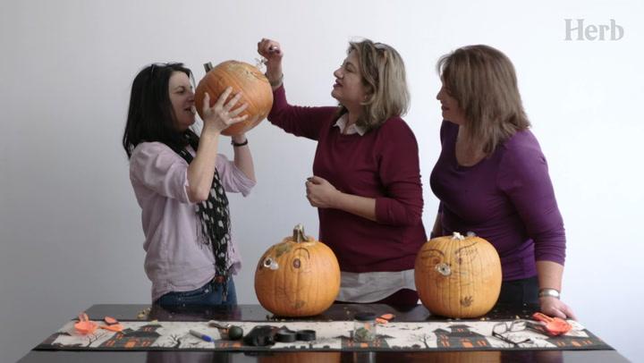 High Moms Make Pumpkin Bongs Thumbnail