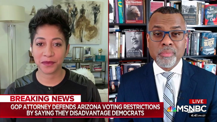 MSNBC's Glaude: GOP's 'Assault' on Voting Rights of Minorities Part of the Cold Civil War