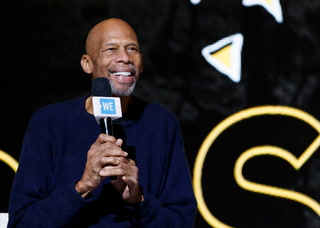 Kareem Abdul-Jabbar is responsible for one of the most iconic sporting moments in Las Vega