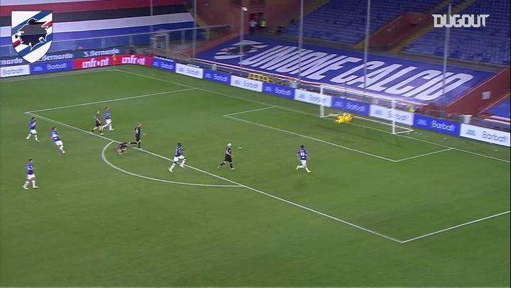 أفضل أهداف سامبدوريا على ملعبه أمام ميلان