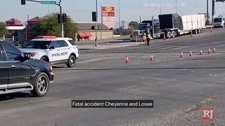 Driver killed in crash involving semitrailer in North Las Vegas – VIDEO