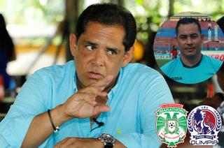 Rolin Peña alza la voz por el arbitraje:
