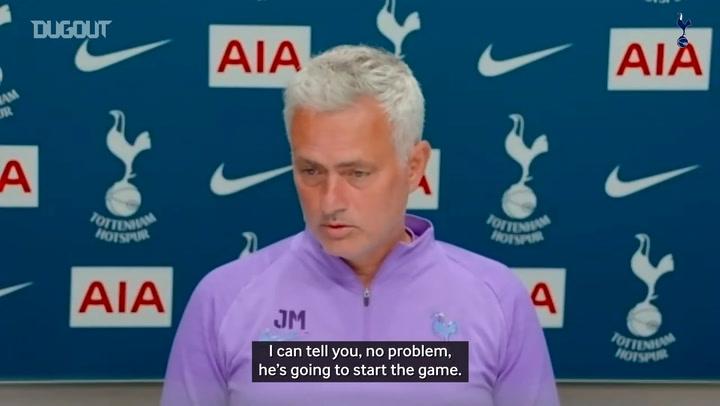 Mourinho: Kane will start against Manchester United