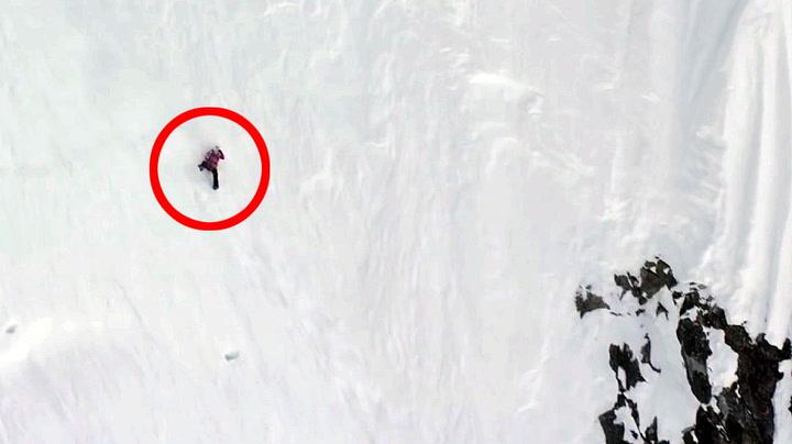 Falt 300 meter ned fjellside - forstuet to fingre