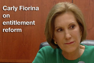 Carly Fiorina on entitlement reform