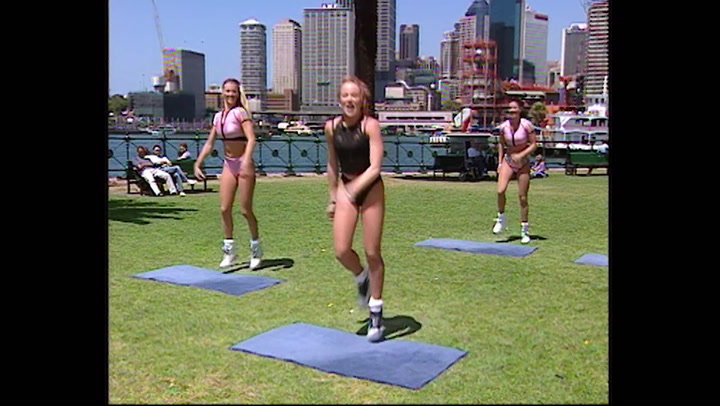 Michelle - Hickson Road Reserve - High Impact Workout