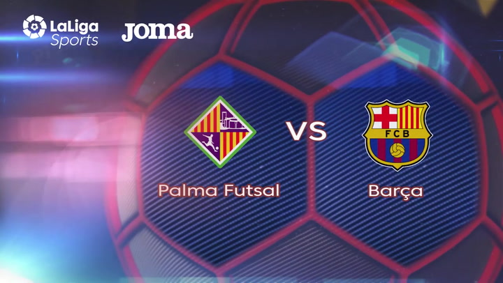 Resumen del Palma Futsal - Barça de la Liga LNFS