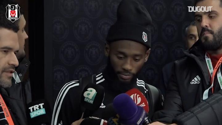 N'Koudou'nun Konyaspor Maçı Sonrası Açıklamaları
