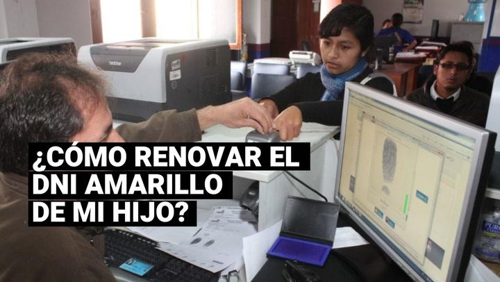 DNI para menores de edad: ¿cómo renovar este importante documento?