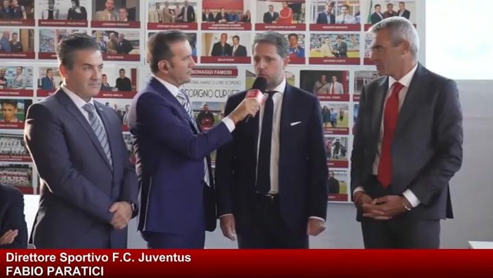 Fabio Paratici, director deportivo de la Juventus, asegura que no quieren a Rakitic