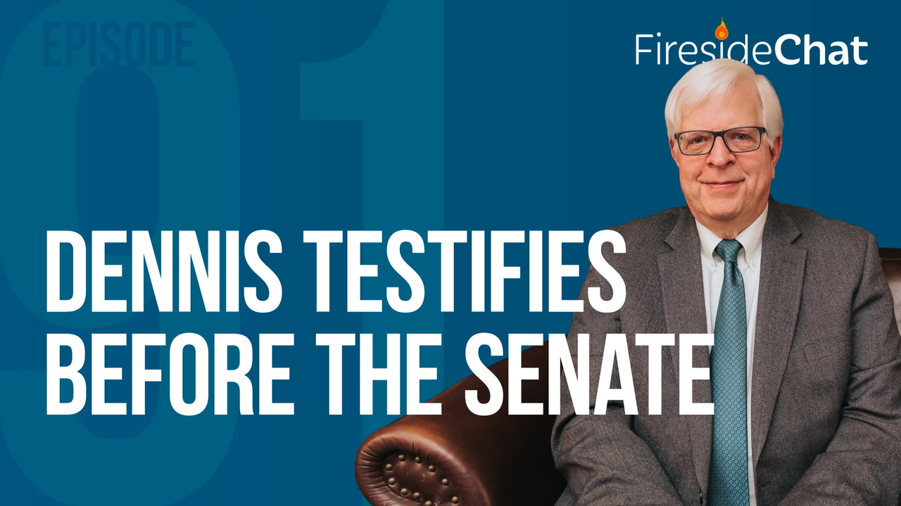 Ep. 91 - Dennis Testifies Before the Senate