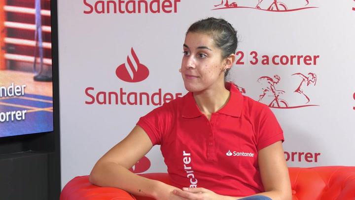 """Carolina Marín: """"No estoy en mi mejor momento, pero miro hacia delante"""""""