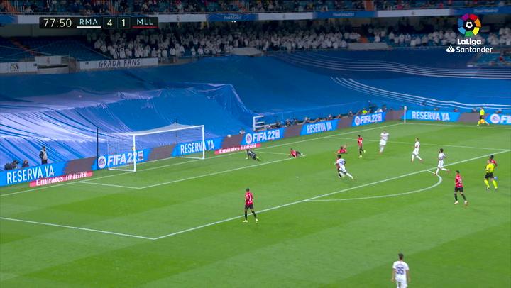Gol de Benzema (5-1) en el Real Madrid 6-1 Mallorca