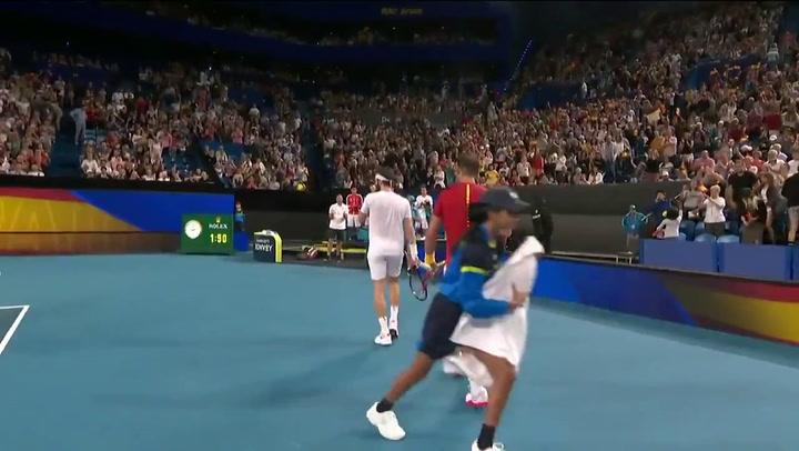 Rafa Nadal derrota a Basilashvili en la ATP Cup de Perth