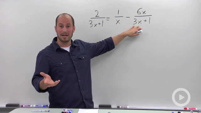 Solving a Rational Equation - Problem 2