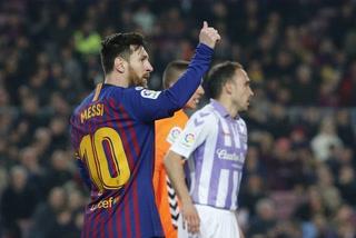 Así fue el penal de Lionel Messi contra el Valladolid