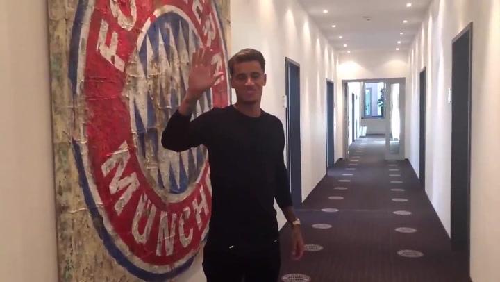 Así da la bienvenida el Bayern Múnich a Coutinho