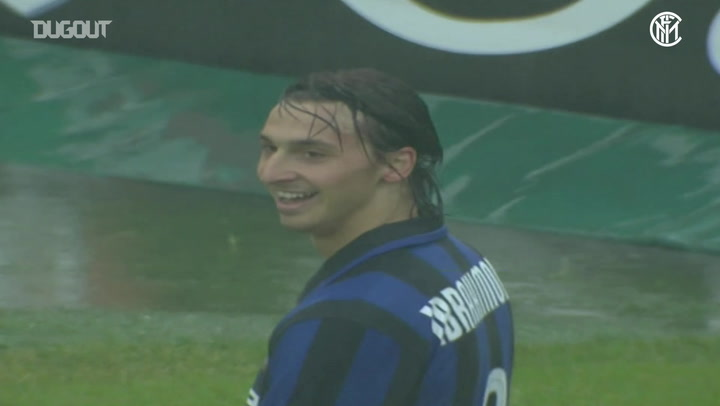 Ibrahimovic brace seals Scudetto for Inter