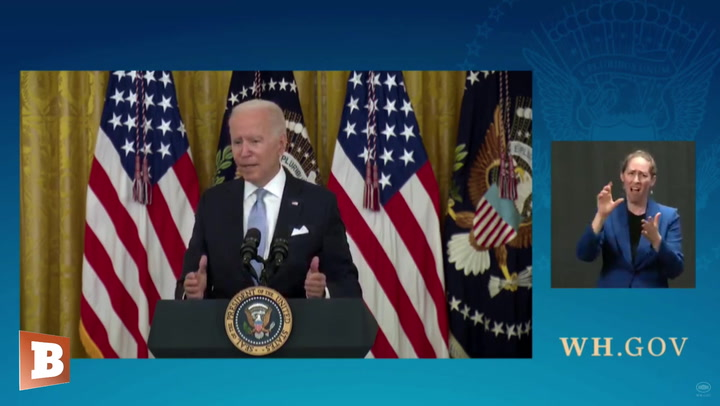 Biden: I'd Like to See States, Private Companies, Schools Impose Vax Mandates