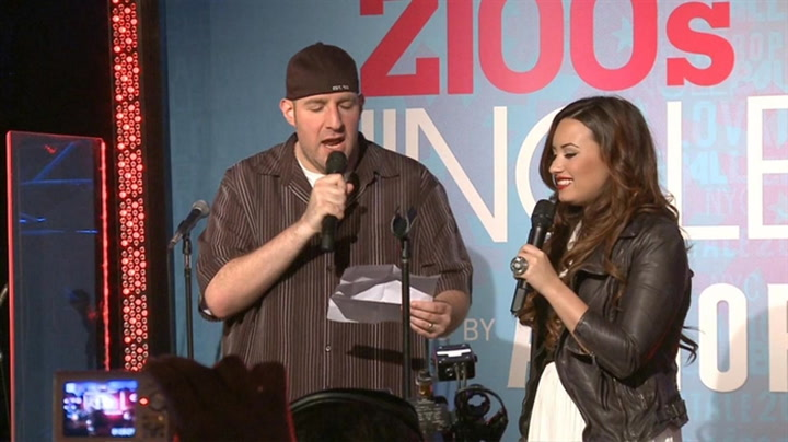 Demi Lovato Helps Z100 Announce Z100's Jingle Ball 2011 Lineup