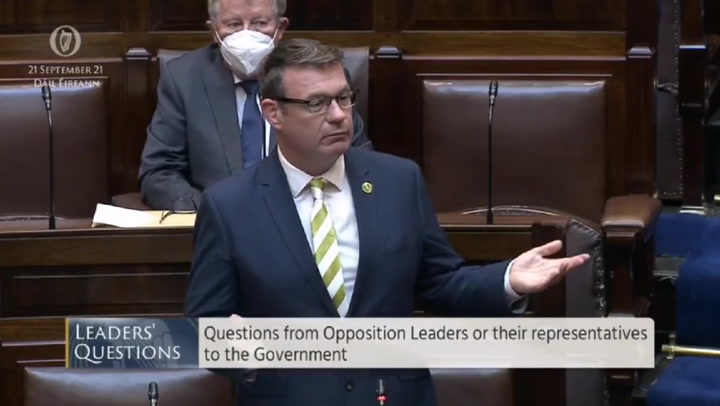 'Doing a Roy Keane': Irish politicians get into argument after phone rings in parliament