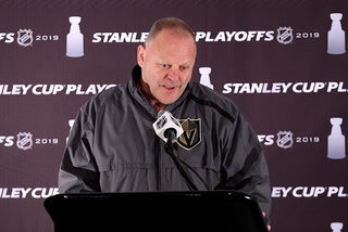 "Knights' Gallant Calls DeBoer a ""clown"" – VIDEO"