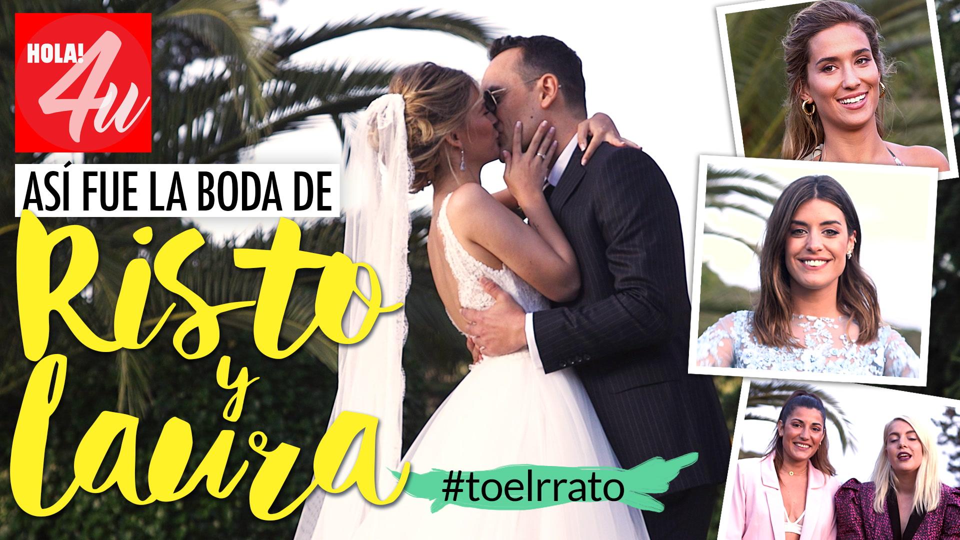La boda Risto Mejide y Laura Escanes