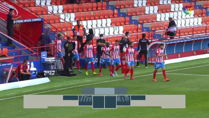 LaLiga SmartBank (J.2): Lugo 2-1 Leganés