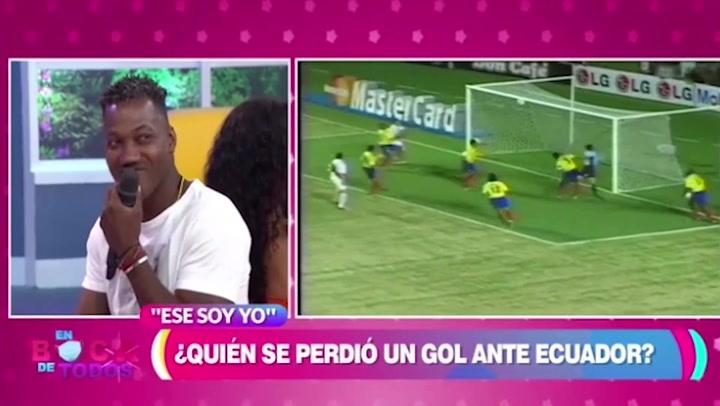 Andrés Mendoza habla del gol que falló en las Eliminatorias de Alemania 2006