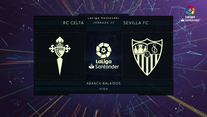 LaLiga Santander (J23): Resumen y goles del Celta 2-1 Sevilla