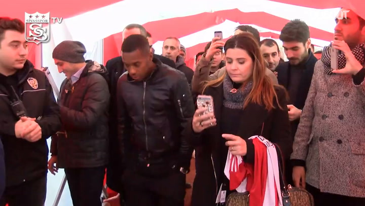 The day Robinho signed with Sivasspor