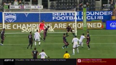 Olimpia elimina al Seattle Sounders (Concachampions)