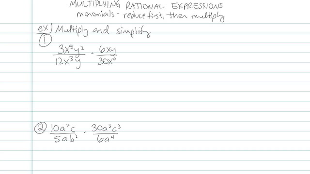 Multiplying and Dividing Rationals - Problem 5