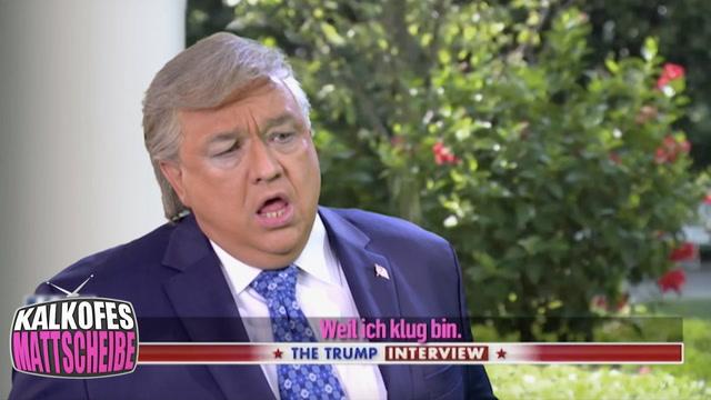 Kalkofes Mattscheibe Clip: Trump Interview