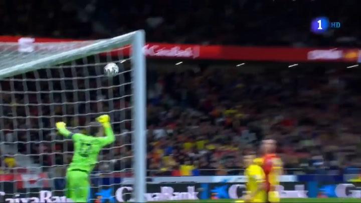 Los goles del  España 5-0 Rumanía