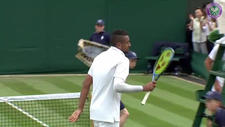 Kyrgios vence a su compatriota Jordan Thompson y ya espera a Nadal en 2ª ronda de Wimbledon
