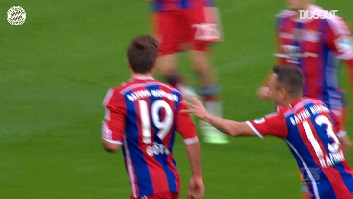 Mario Götze's long-distance stunner vs Hoffenheim