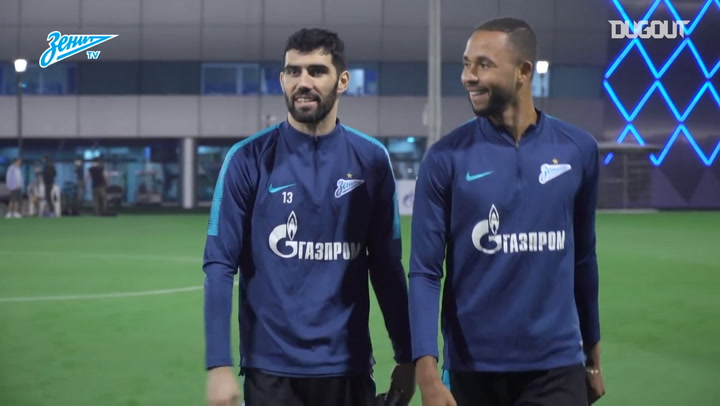 Zenit's First Day In Doha