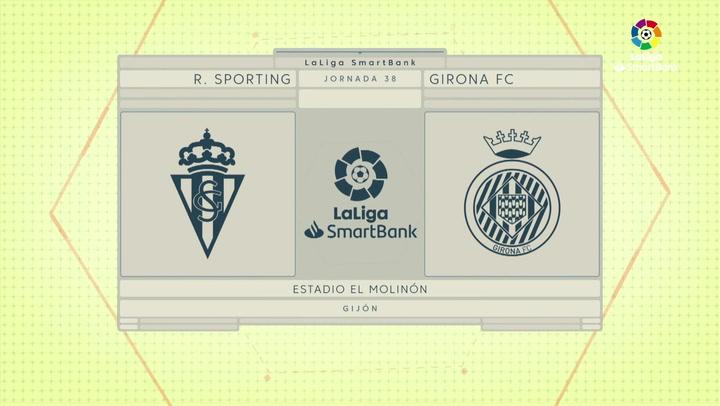 LaLiga SmartBank (J.38): Sporting 0-0 Girona