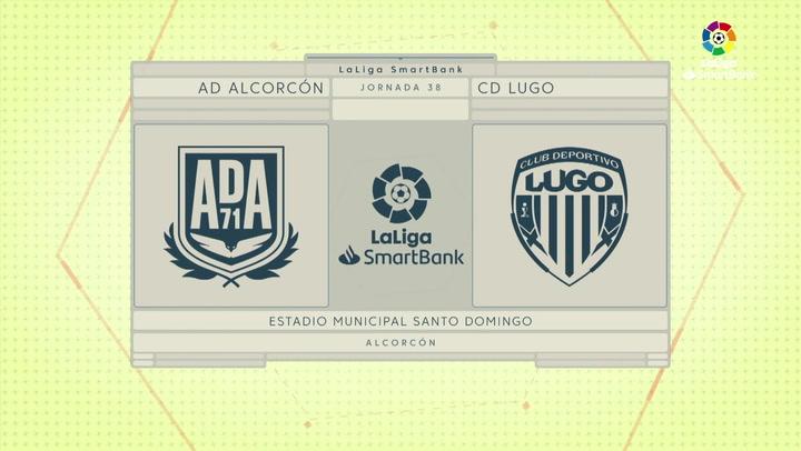 LaLiga SmartBank (J38): Resumen y goles del Alcorcón 2-2 Lugo