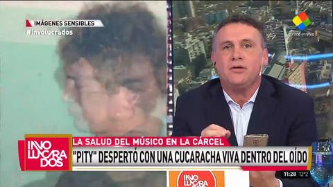 Cómo está Pity Álvarez después de que hallaron una cucaracha en su oído