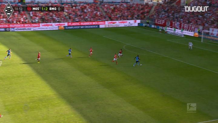 Breel Embolo's first Borussia Monchengladbach goal