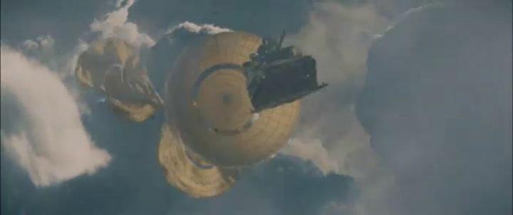 Scene - Flying Tank