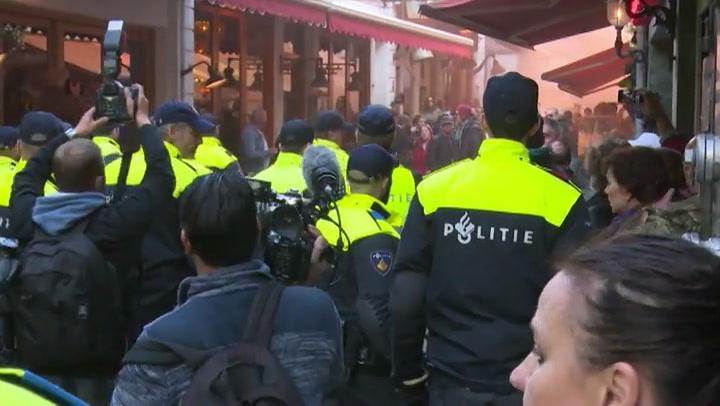 Video: Pegida demonstratie in Utrecht leidt tot rellen